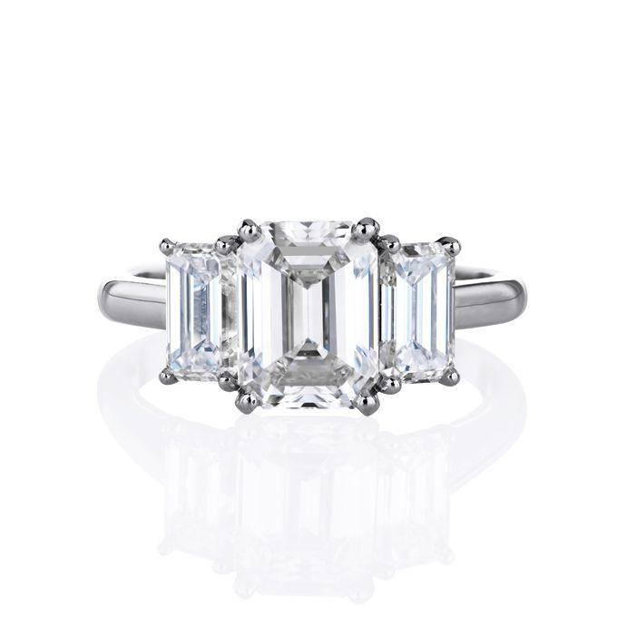 Resultado de imagen para trio ring gemstones