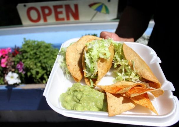Best New Mexican Fast Food El Parasol The Chicken Tacos Are To