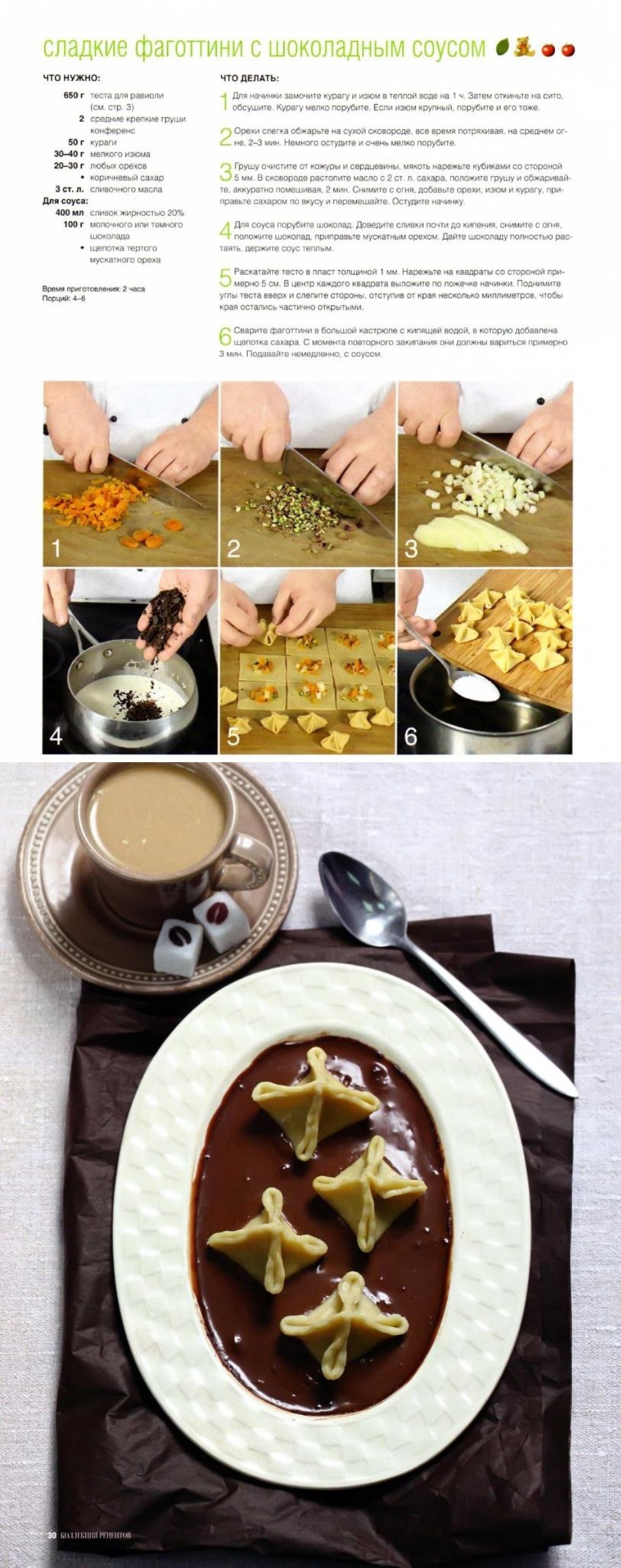 Сладкие фаготтини с шоколадным соусом   Еда, Завтрак, Кухня