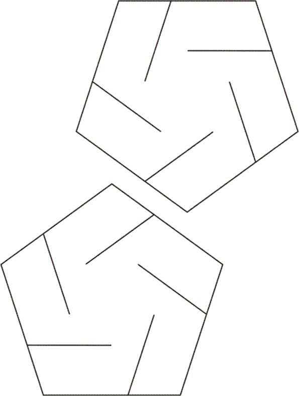 slide-together geometric constructions- templates and guidance GΕΟ