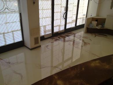 Pavimento in resina cucina cerca con google pavimento for Pavimento in resina 3d
