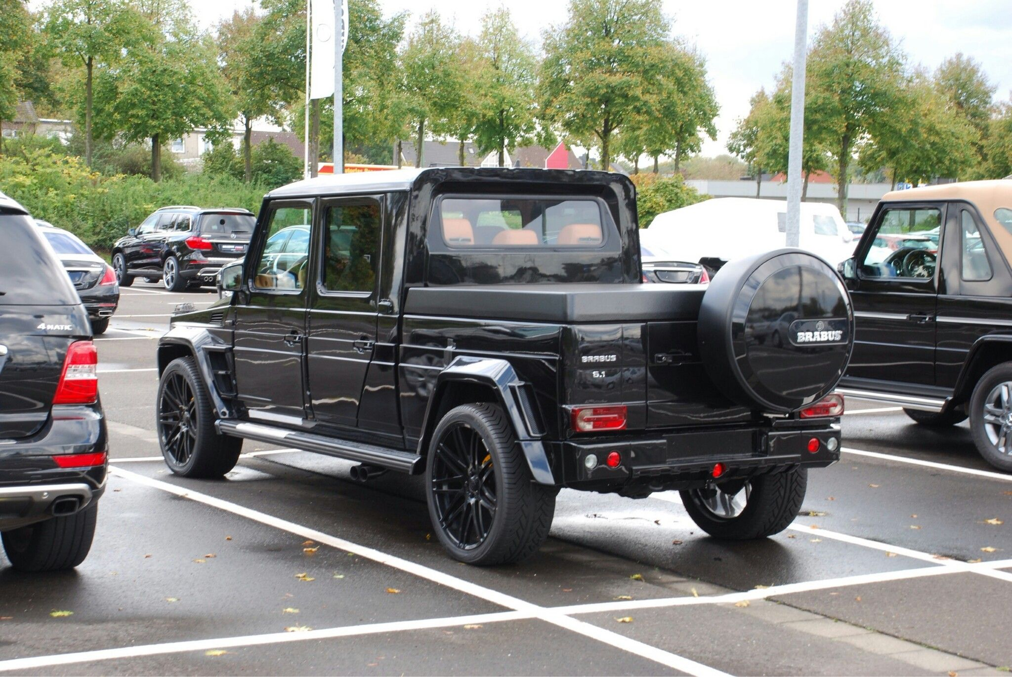 mercedes class g brabus pick up camionetas 4x4. Black Bedroom Furniture Sets. Home Design Ideas