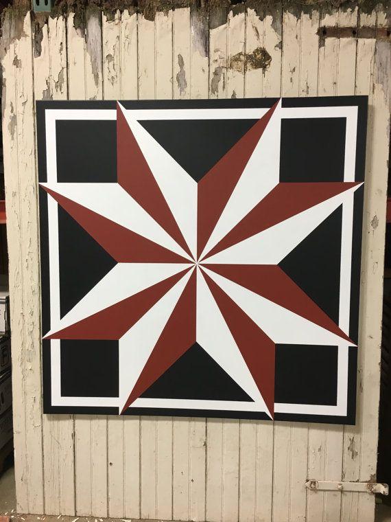 48'' x 48'' indoor/outdoor wooden barn quilt by LancasterFarmArt