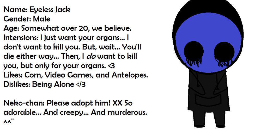 Image result for eyeless jack poem