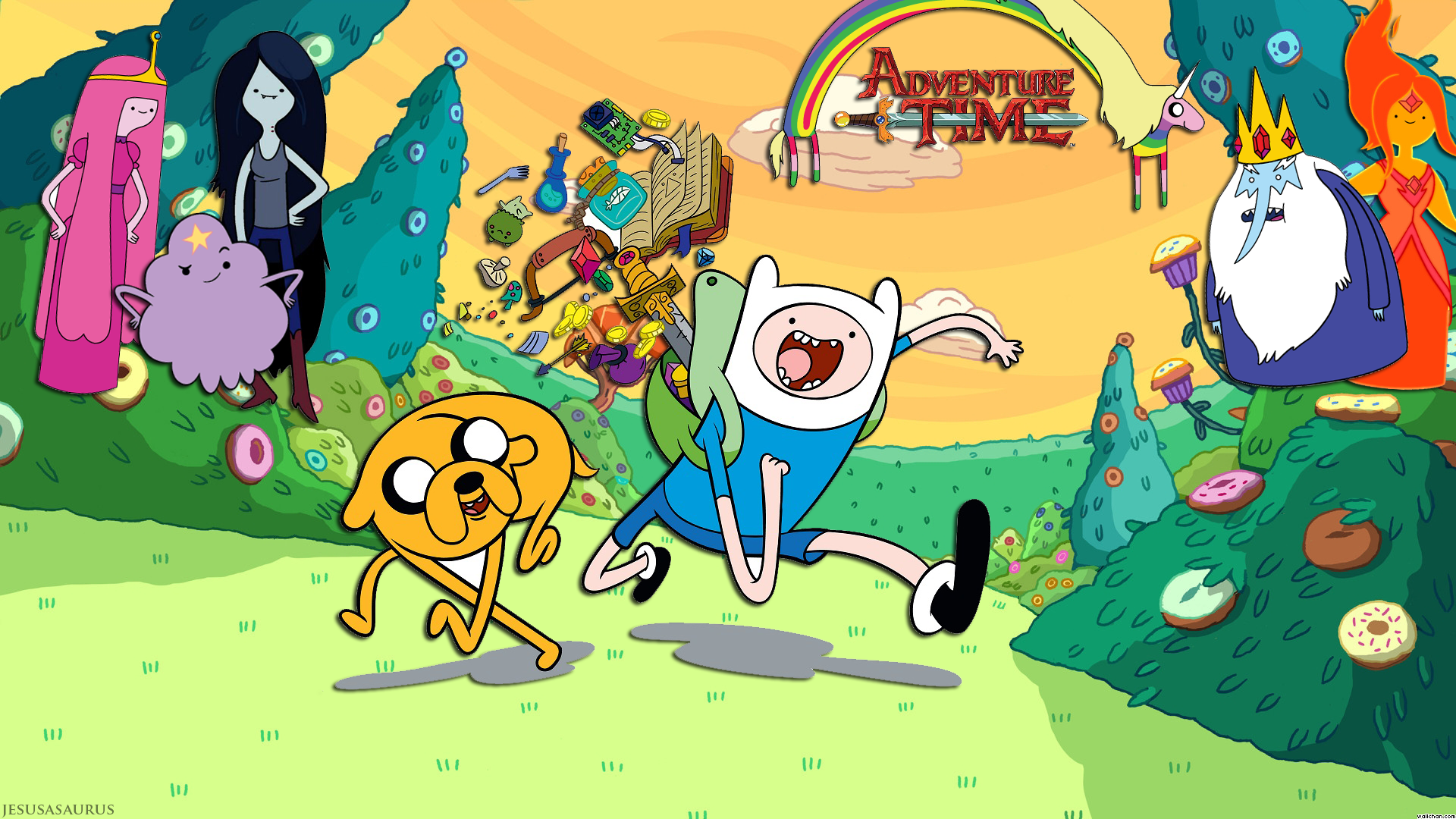 Adventure Time News Gaze Adventure Time Wallpaper Adventure Time Cartoon Adventure Time Movie