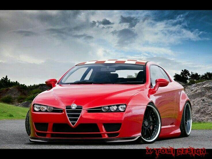 Widebody Alfa Romeo Brera With Images Alfa Romeo Brera Alfa