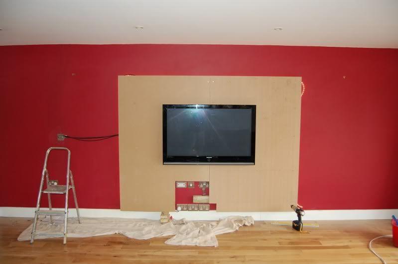 MDF Wall Panel Build   DIY   Pinterest   Mdf Wall Panels, Walls And Cord  Management