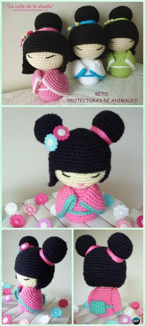 Crochet Doll Toys Free Patterns | Patrones amigurumi, Ganchillo y Tejido