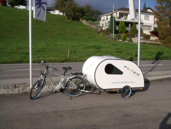 remorque pour v lo carriole pinterest remorques pour v los remorque et caravane. Black Bedroom Furniture Sets. Home Design Ideas