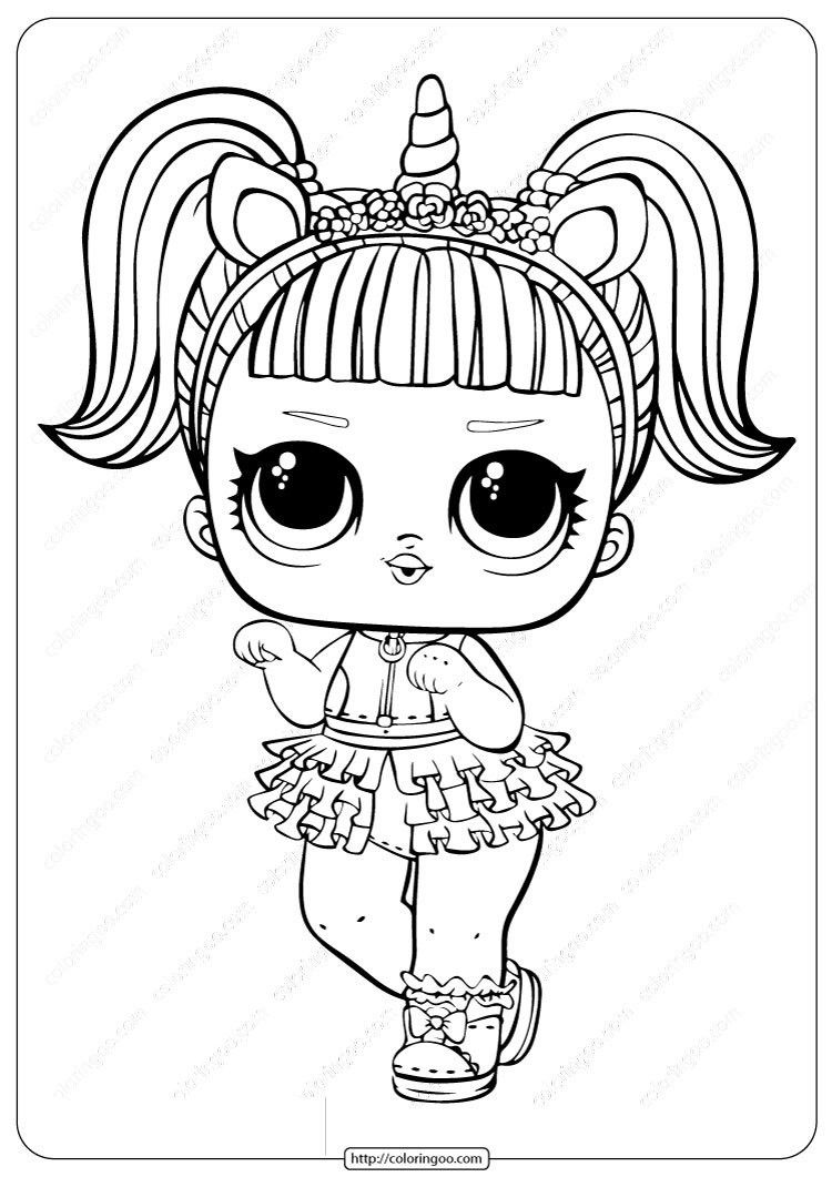 Lol Unicorn Coloring Page Youngandtae Com Unicorn Coloring Pages Kitty Coloring Hello Kitty Coloring