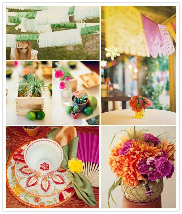 Mexican Themed Wedding Reception: Mexican Wedding Decorations