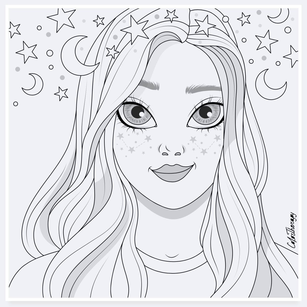 Colortherapy Barbie Coloring Pages People Coloring Pages Kids Printable Coloring Pages
