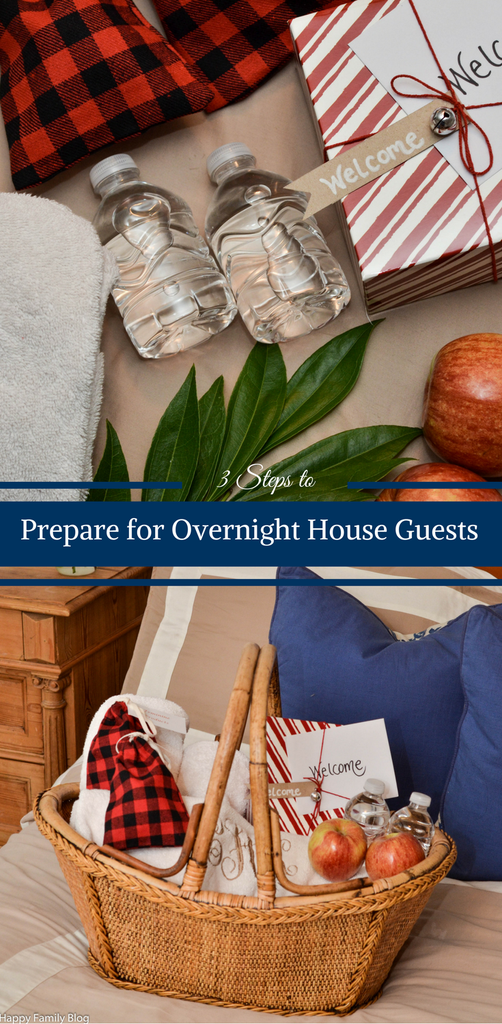 3 Steps To Prepare For Overnight House Guests With Images