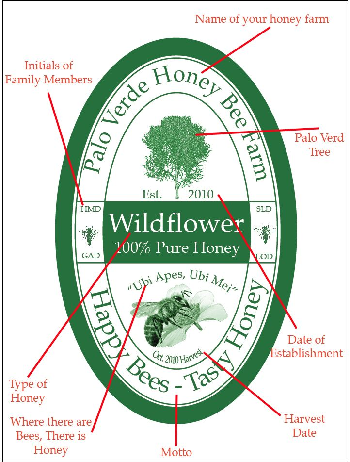free templates to create customized honey labels bee fabulous