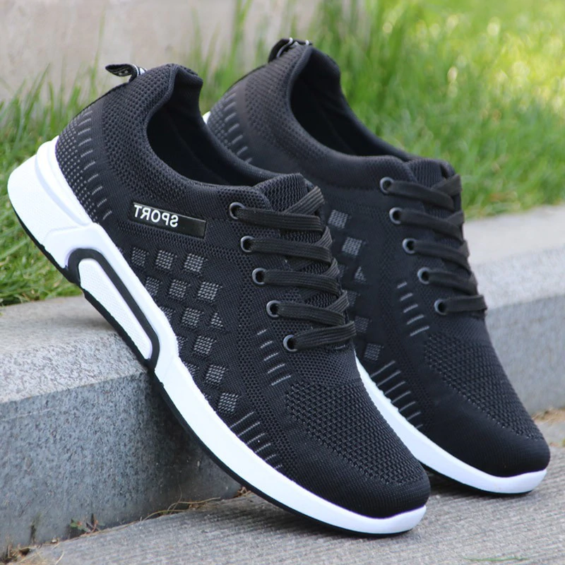 Men's Sports Shoes Casual Breathable Outdoor Sneakers