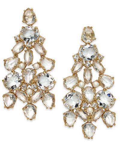 Kate spade new york gold tone crystal chandelier earrings nautical kate spade new york gold tone crystal chandelier earrings aloadofball Image collections