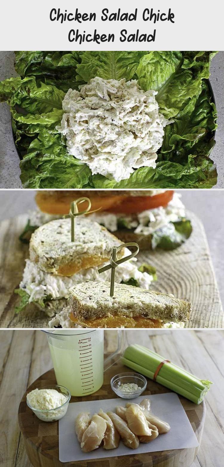 Salade de poulet Salade de poulet au poulet - Minna's Blog