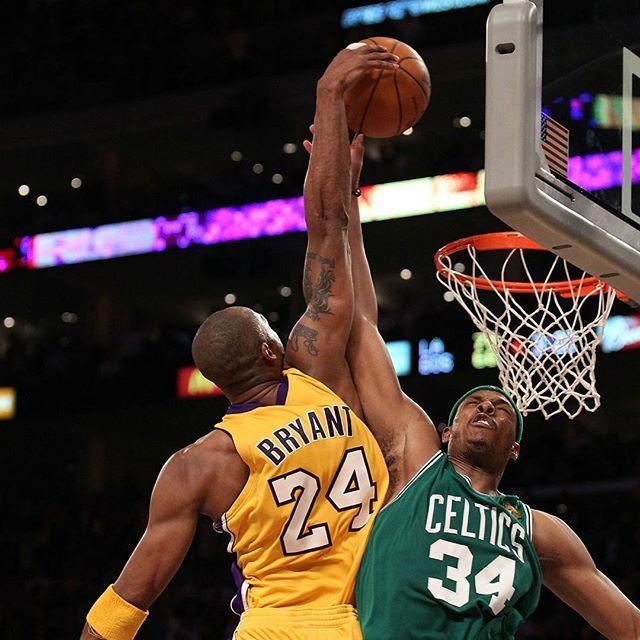 Kobe Bryant Dunks On Paul Pierce Kobe Bryant Pictures Kobe Bryant Black Mamba Kobe Bryant 24