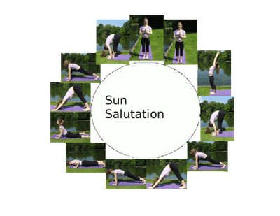basic sun salutation perfect for a midweek pick me up