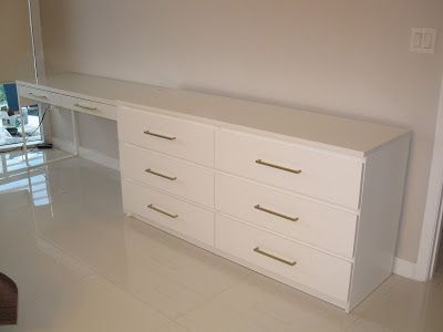 Ikea Hack Sneak Peak Before After Hotel Bedroom Design Desk Dresser Combo Ikea Hack