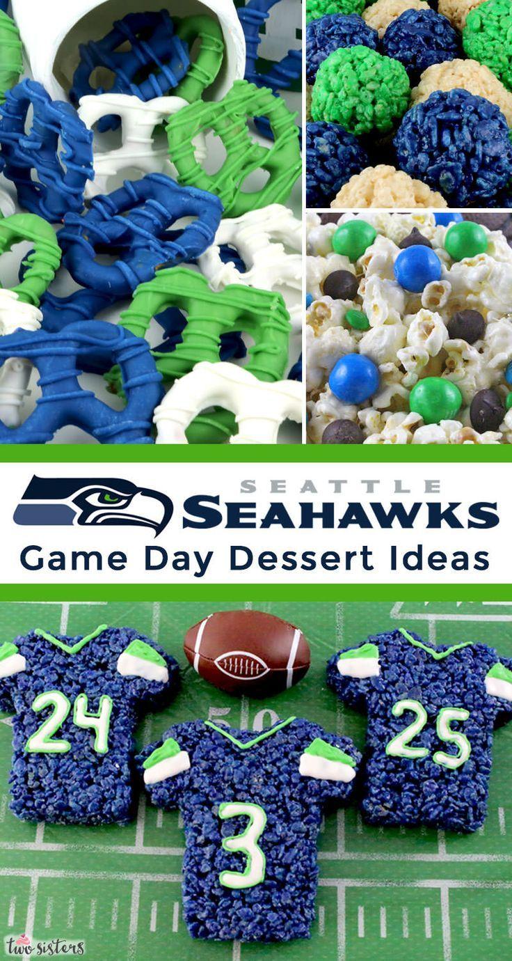 Seattle Seahawks Game Day Treats Seahawks game, Seahawks