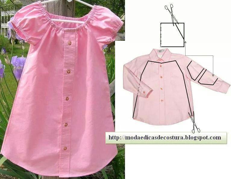 Idea riciclo camicia