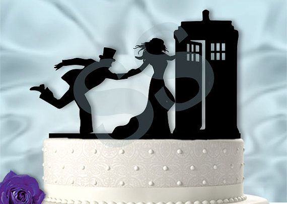 geeky wedding cake toppers 15 wonderfully nerdy wedding cake toppers dr who 14664