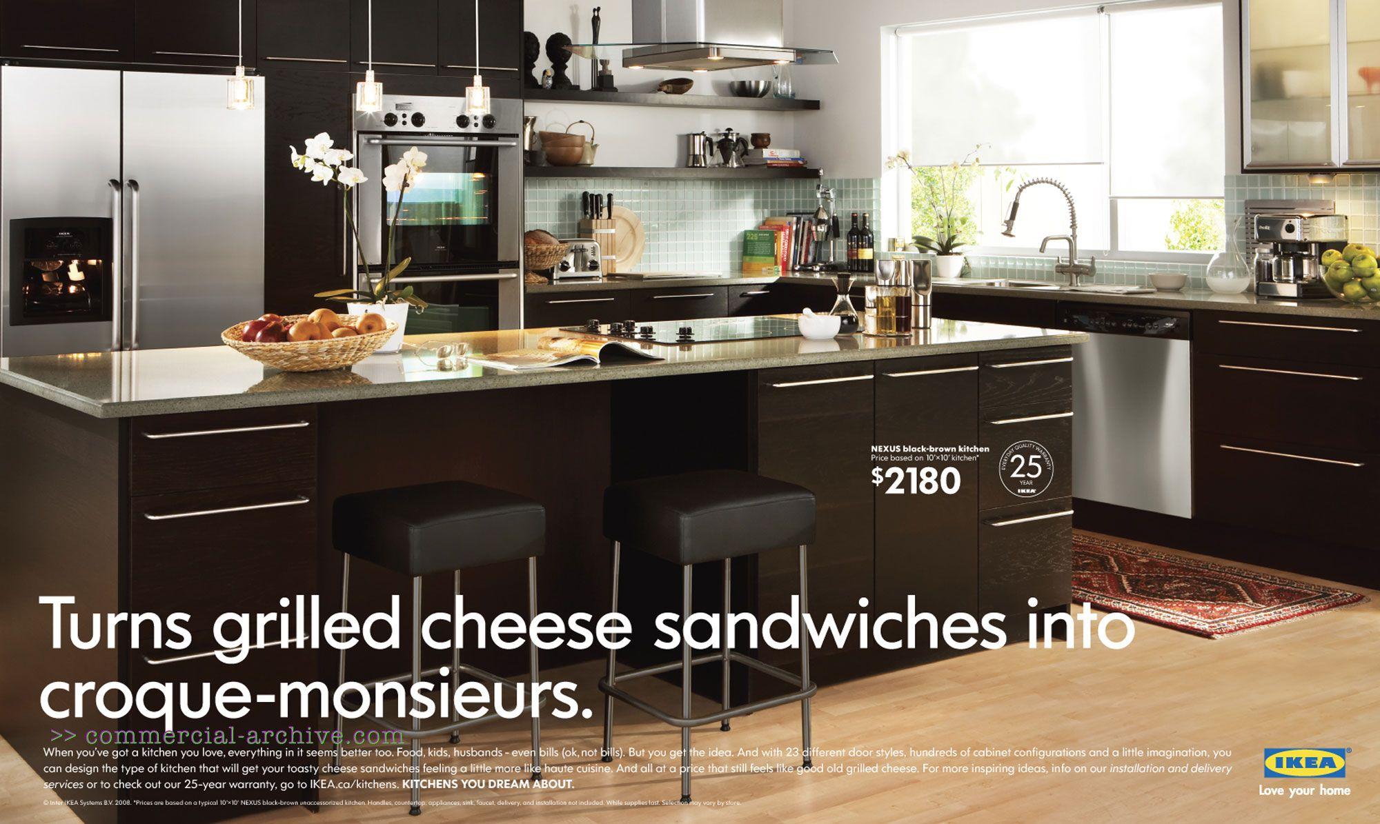 Merveilleux IKEA Kitchen. Ikea Kitchen CabinetsDark CabinetsCupboardsModern ...