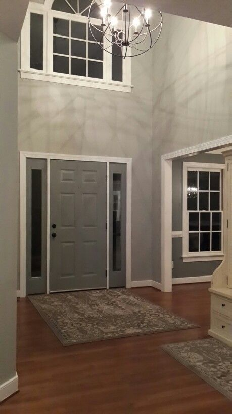Sherwin Williams Mindful Gray On Walls, Sherwin Williams