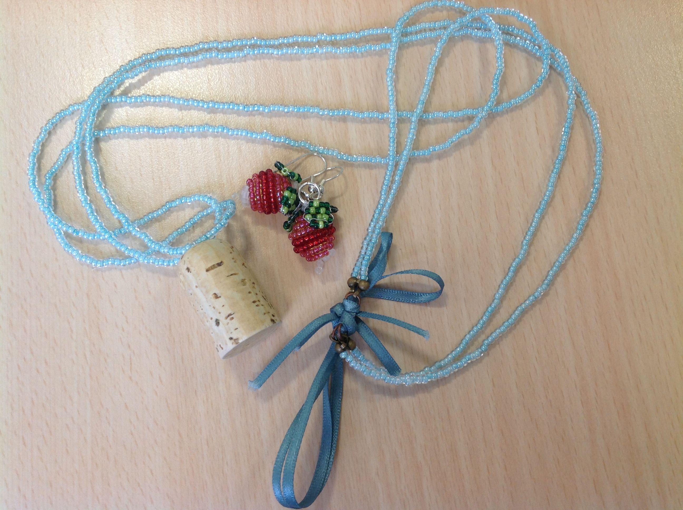 Luna Lovegood's nargle charm and radish earrings