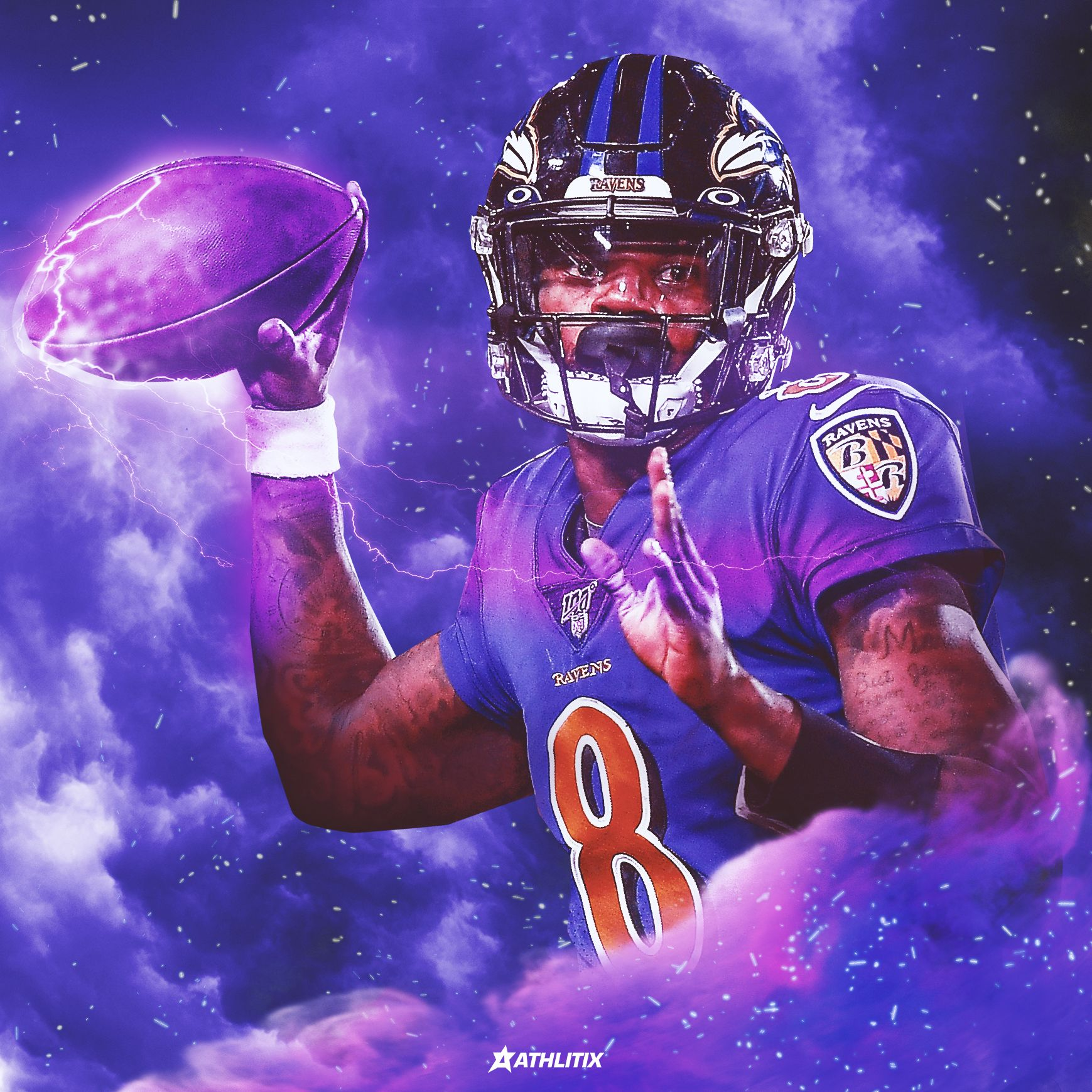 Lamar Jackson Artwork In 2020 Lamar Jackson Jackson Artwork