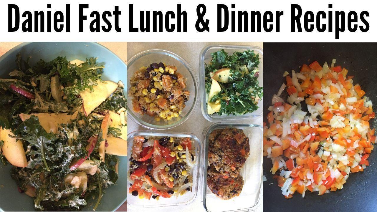 Daniel fast recipes Daniel fast food list pdf Daniel