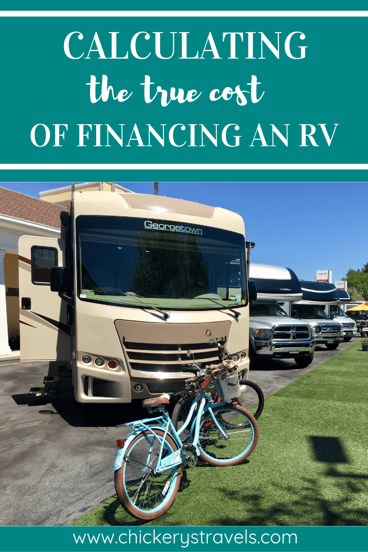 The True Cost Of Financing An Rv Consider Depreciation And