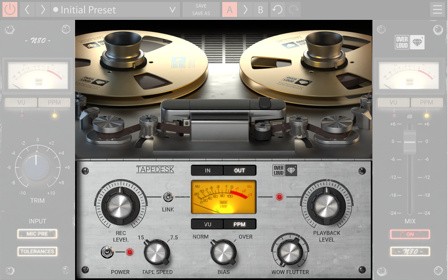 KVR Audio News: Overloud has released TAPEDESK, a plug-in which