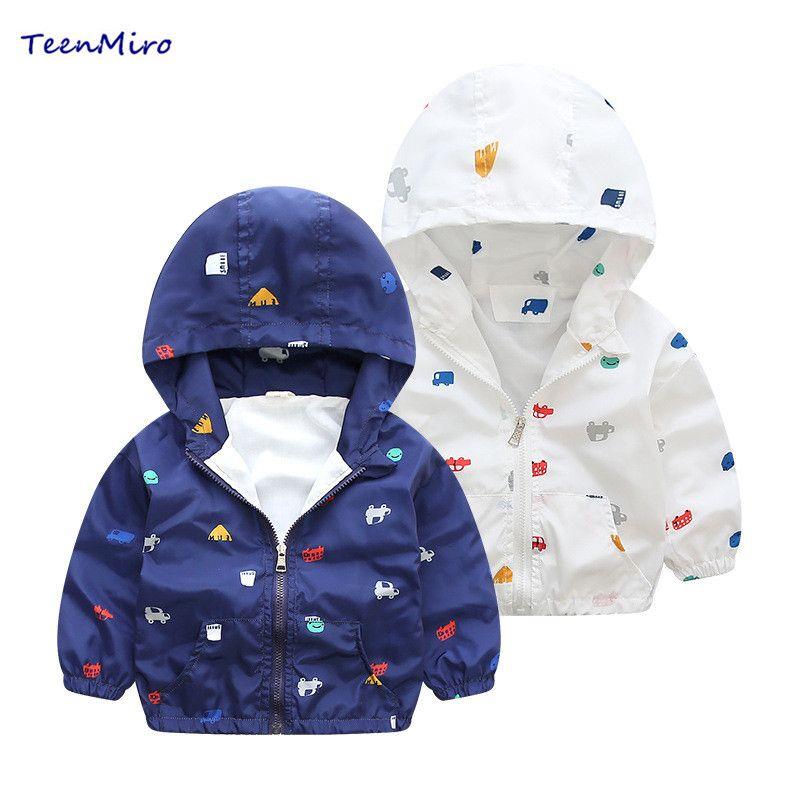 8bce4e8cf 2018 Girls Jackets Kids Spring Jacket Children Coat Toddler Boys ...