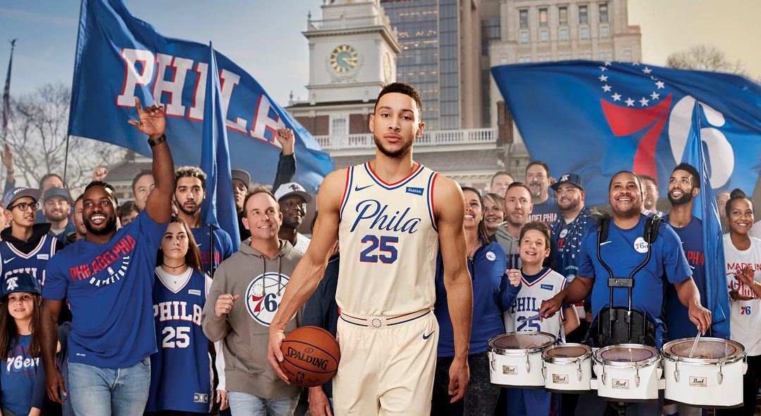 The new city jersey Rate 1-10 ---------  sixers  gosixers  sixers army   joelembiid  embiid  bensimmons  dariosaric  philly  wellsfargocenter  nba  ... 7448b1ae4
