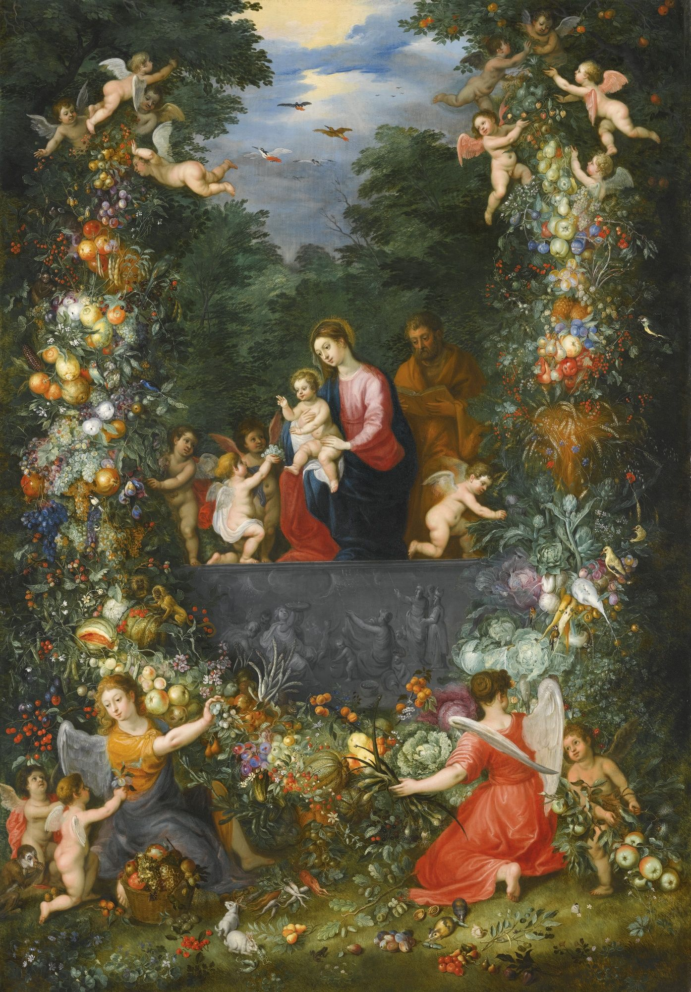 Jan Brueghel The Younger And Hendrik Van Balen The Elder