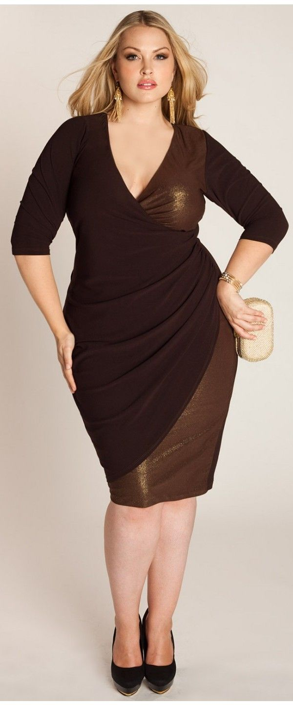 Plus size party dresses for women - http://www.cstylejeans.com ...