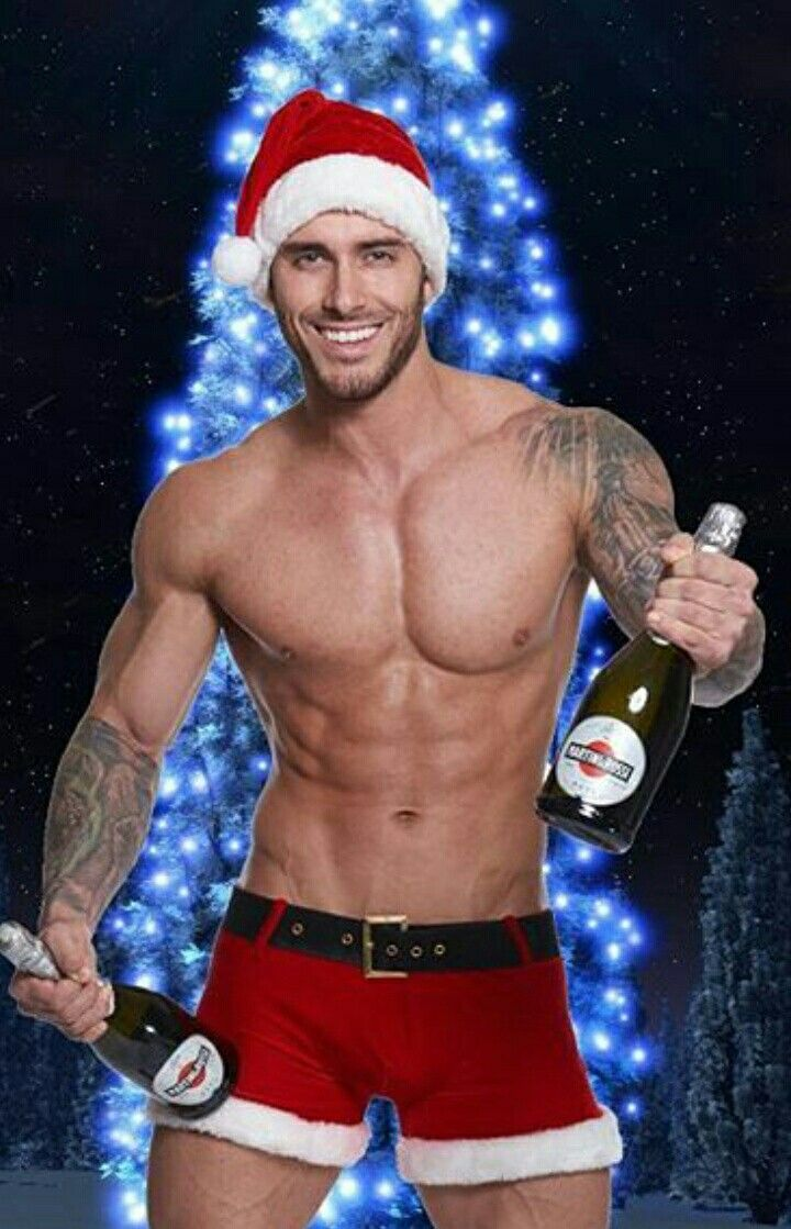Sexy male christmas commercials