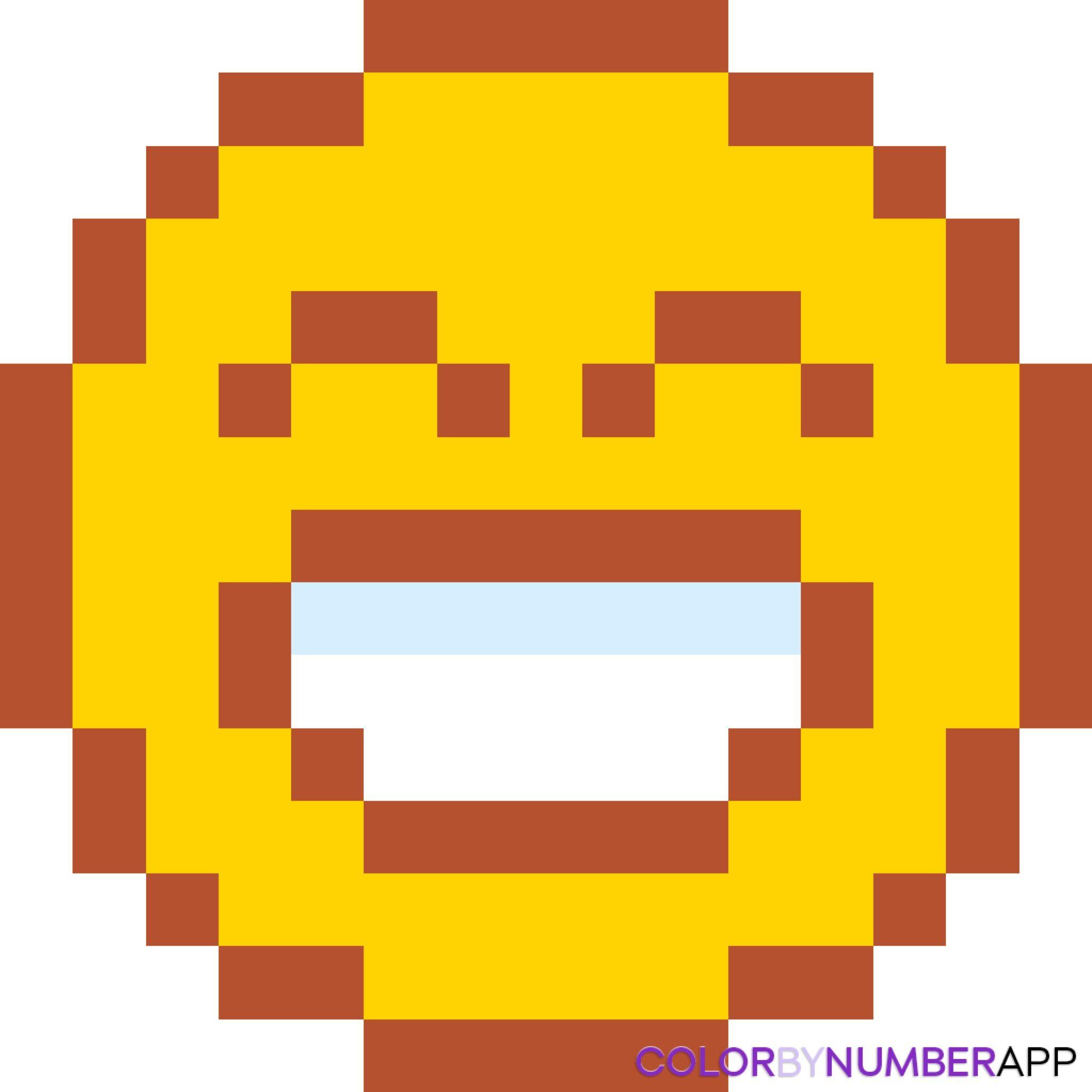 Emoji En Pixel Art Pixel