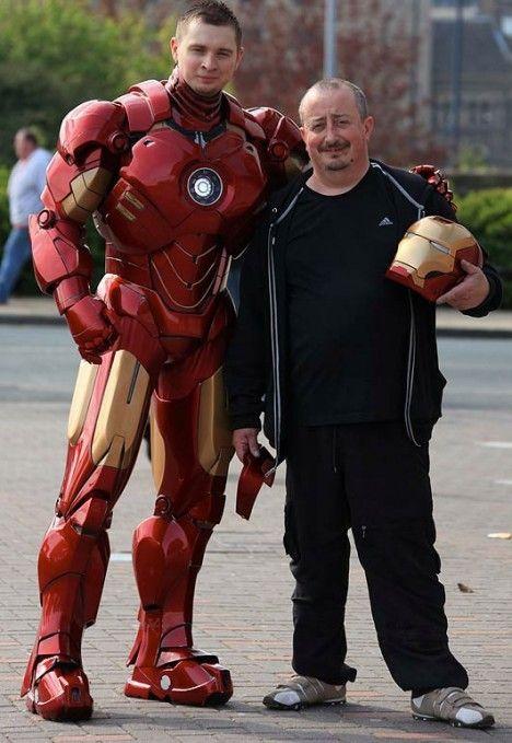 Iron Man Superhelden Kostum Im Nachbau Iron Man Cosplay Iron Man Anzug Iron Man