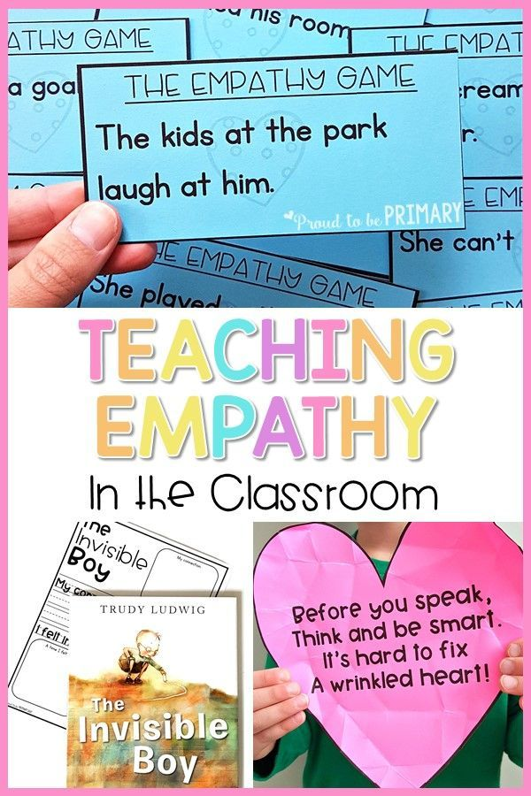 Teaching Empathy in the Classroom is part of Teaching empathy, Teaching kindness, Social emotional learning, Empathy lessons, Social emotional skills, Social skills lessons - Teach kids empathy and compassion through mindful, fun lessons, discussions, and activities that build social awareness and community