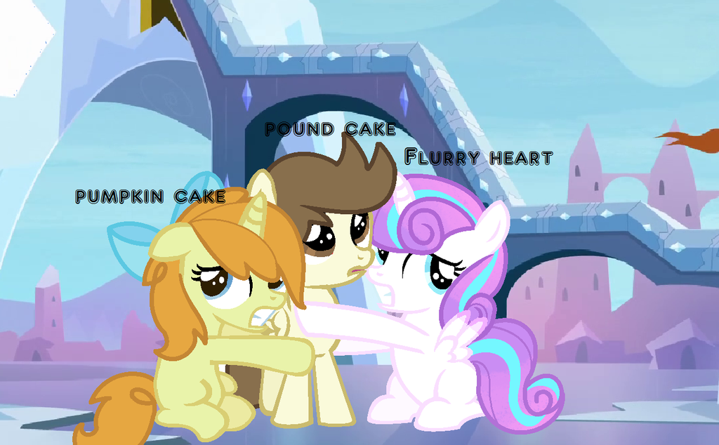 Pound Cake Pumpkin Cake And Flurry Heart Ponies Flurry Heart