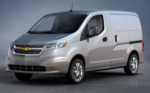 Chevrolet Rebadging Nissan Nv200 As City Express Van Chevy