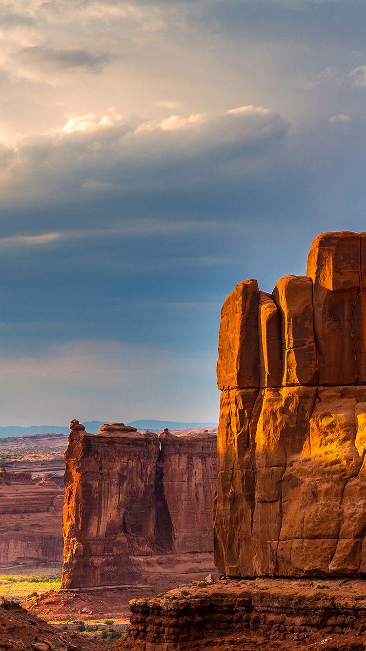 Grand Canyon Natural Rock Formations Iphone  Wallpaper