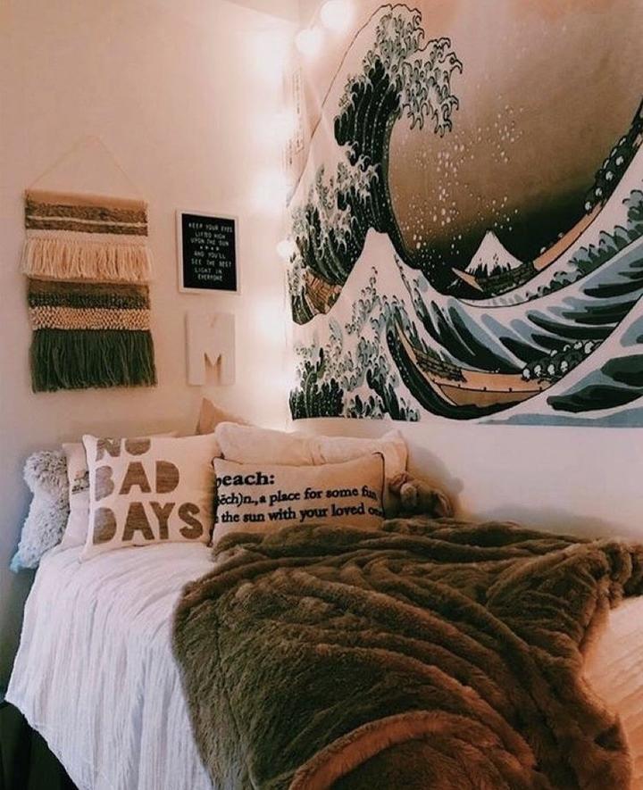 Wave Maker Tapestry