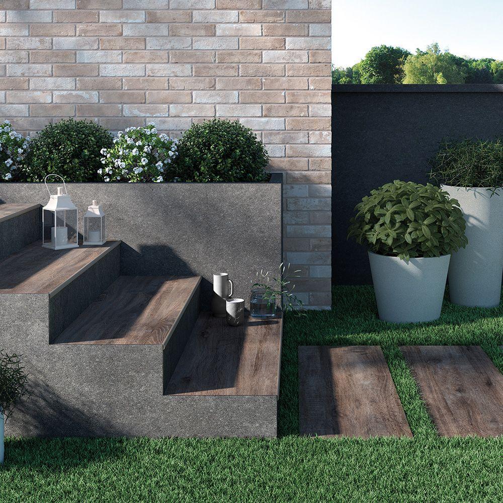 Carrelage Aspect Plancher Brut Interieur Exterieur Smokewood Avec Images Carrelage Imitation Parquet Exterieur Carrelage Terrasse Exterieur Carrelage Aspect Bois