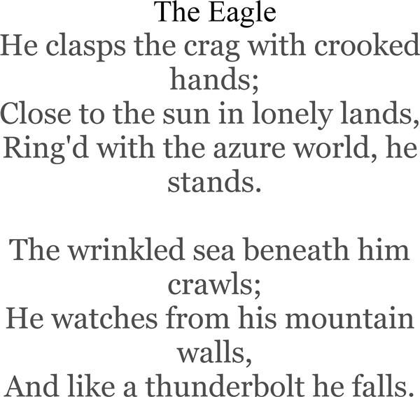 alfred lord tennyson writing style