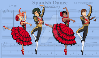 "Our Music Blog : 2016 Term 1: Weeks 9 and 10 - The Spanish Dance ""Chocolate"" from the Nutcracker"