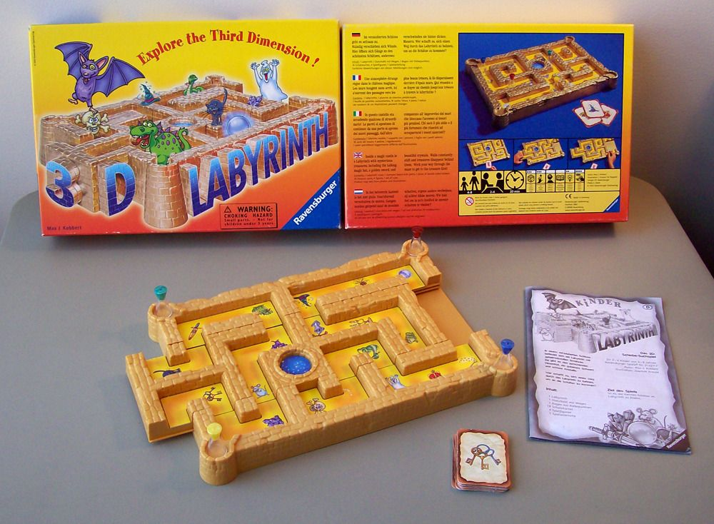 how to play labyrinth board game